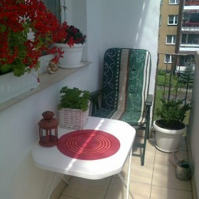 balkon latem