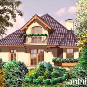Projekty ogrodów z własnym tłem