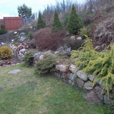 Ogród zimą