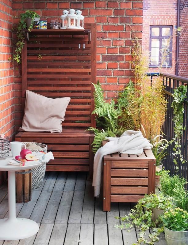 Balkon, Relaks na balkonie