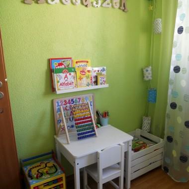 Drobne zmiany w maleńkim pokoiku przyszłego przedszkolaka :)