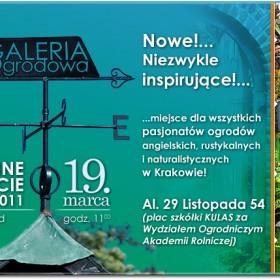 Otwarcie Galerii Ogrodowej w Krakowie