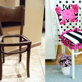Krzesło ze śmietnika - DIY