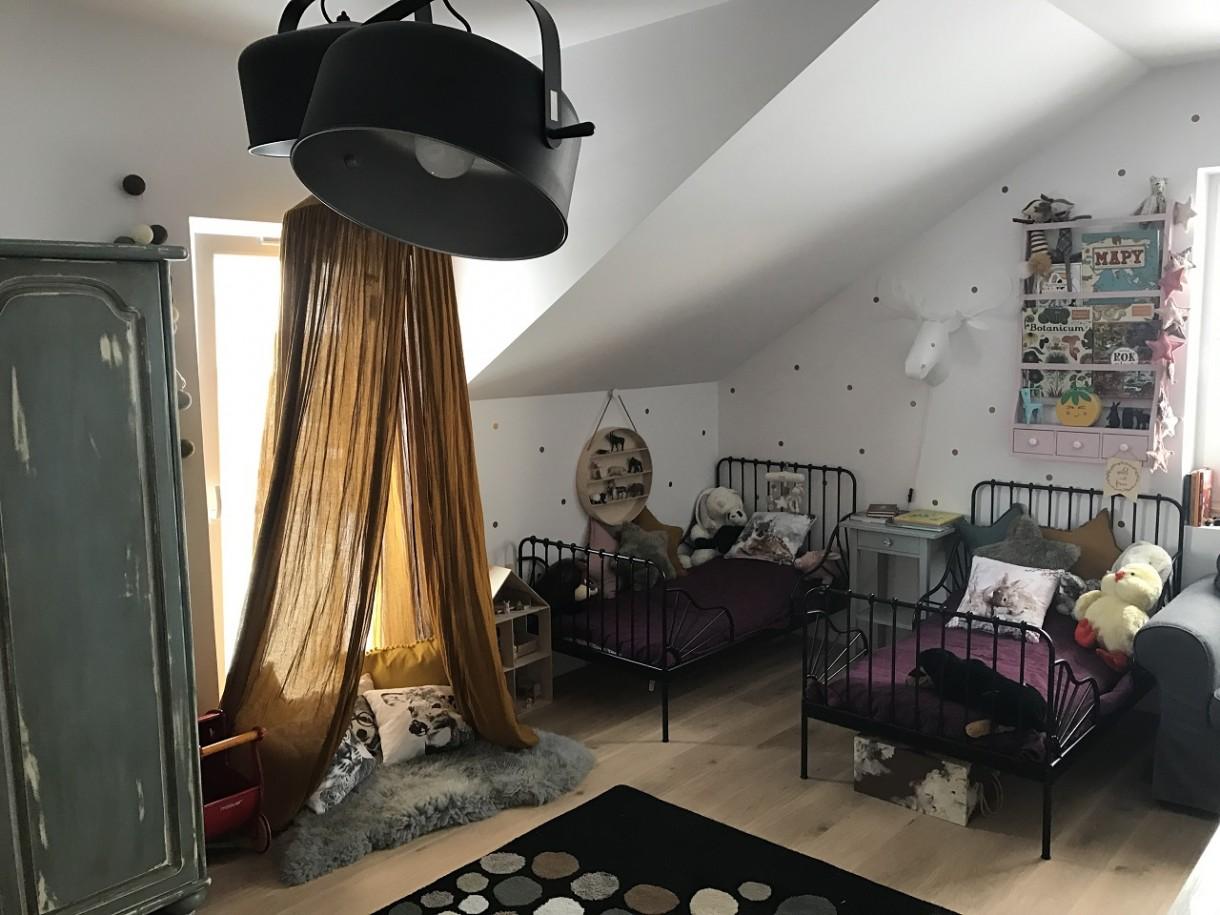 Pokój dziecięcy, Pokój dziecięcy w stylu skandynawskim z NordDesign