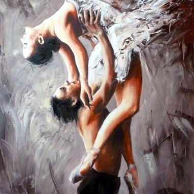 taniec w mym malarstwie