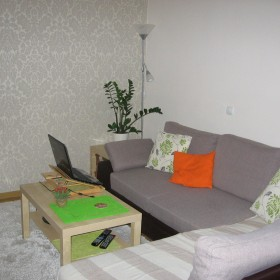 Duży pokój po małych zmianach.