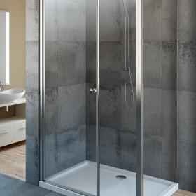 Kabina prysznicowa EOS KDS Radaway z drzwiami wahadłowymi