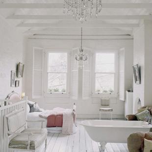 Łazienki ... trochę retro, trochę rustykalnia