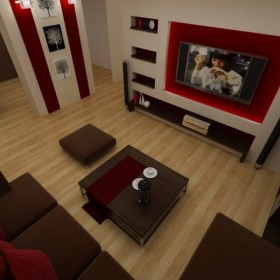 najpiękniejsze nowoczesne salony:)