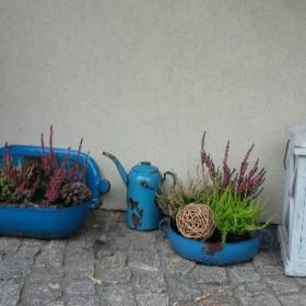 ogród i stare rzeczy od nowa :)