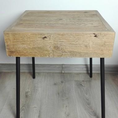 Stoliki nocne stare drewno