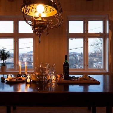 Typowy norweski dom