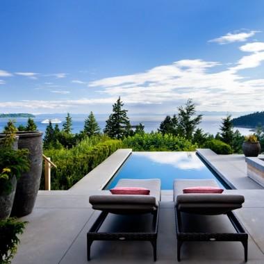 Elegancki dom w West Vancouver, Kanada