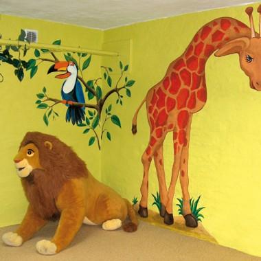 Artystyczne malowanie ścian - dla dzieci