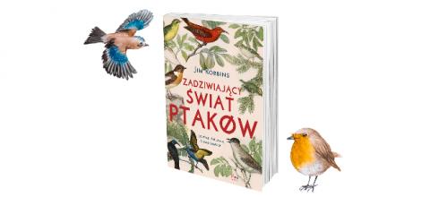"""""""Zadziwiający świat ptaków"""" Jim Robbins"""