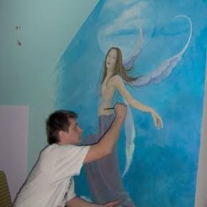 Malarstwo scienne, pokoje dziecięce, malarstwo dekoracyjne
