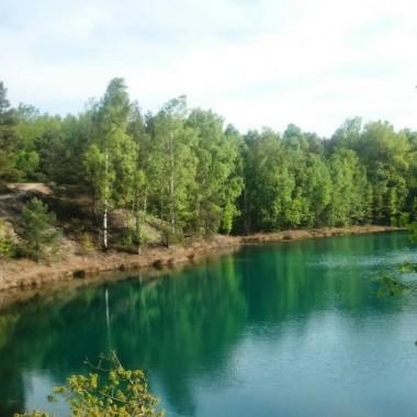 => GEOŚCIEŻKA dawna kopalnia Babina ... tuż obok Łęknicy :) i Parku Mużakowskiego :))) kolorowe Jeziorka zachwycają :)))... Piękny również widok z wieży widokowej :)))