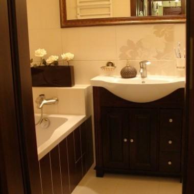Łazienka, przedpokój - zmianypo latach