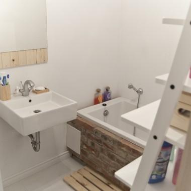 Moja mała skandynawska łazienka
