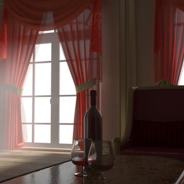 Flamenco bedroom