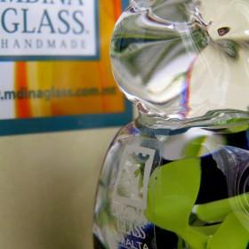 Zajączki Mdina Glass