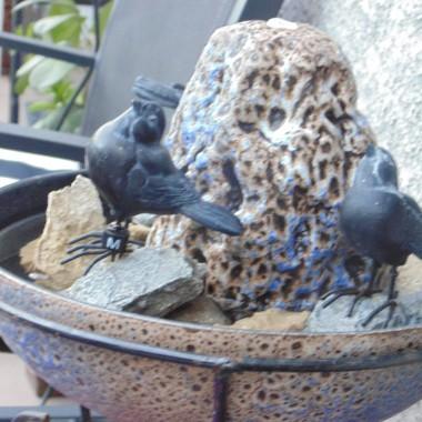 """Malutka fontanna , którą wynalazłam na """" szrotowisku """" i działa  :)))"""