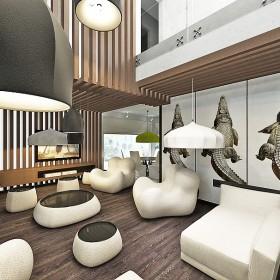 dom Agrestowa- luksusowy projekt wnętrz