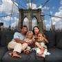 Pozostałe, Dekoracje z Nowym Jorkiem - Most Brookliński z ciekawej perspektywy - dekoracja z głębią.