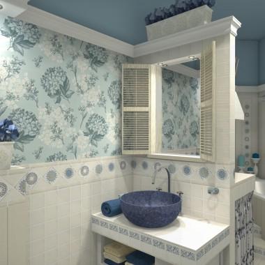 Łazienka w wyjatkowym stylu