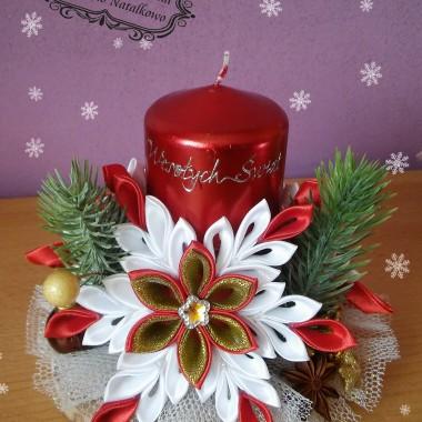 świąteczne dekoracje wykonane moimi rękami