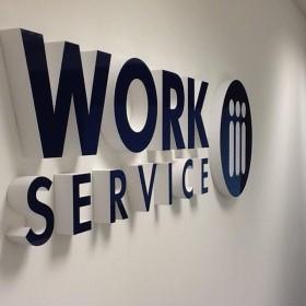 Kolorowe biuro Work Service Poznań