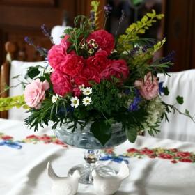 kwiatuchy w domku