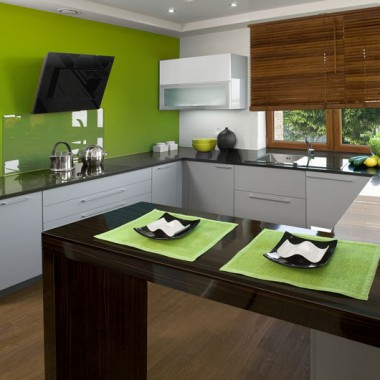 piękne kuchnie w nowoczesnym stylu:)