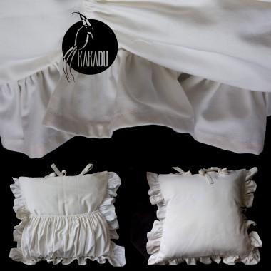 Poduszka dekoracyjna w kolorze ecru
