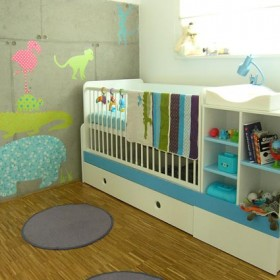 mini pokój dziecięcy - projekt - kraków