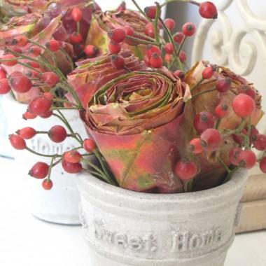Dekoracje z klonowych róż...
