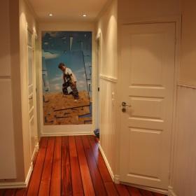 salon i korytarz