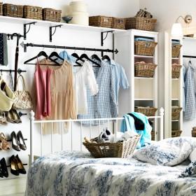 25 porad na zorganizowaną szafę