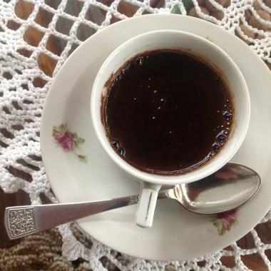 Kawa na tarasie