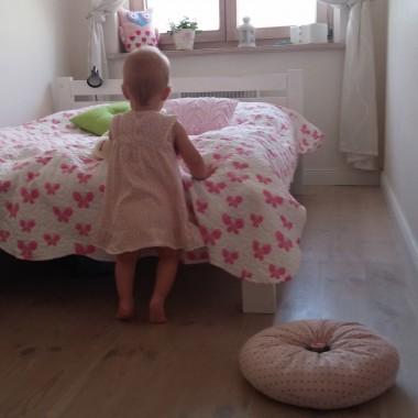 W oczekiwaniu na własny pokoik - pokój dziewczynki