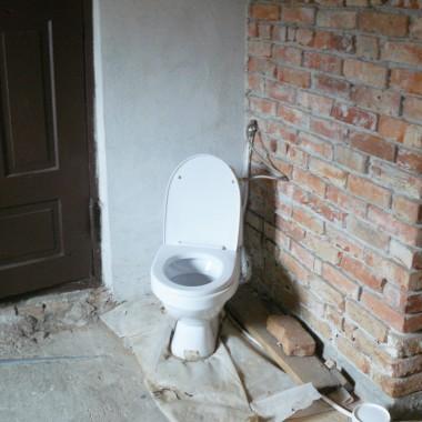 retro w łazience na Wonnym Wzgórzu