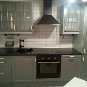 kuchnia  Ikea z małymi zmianami