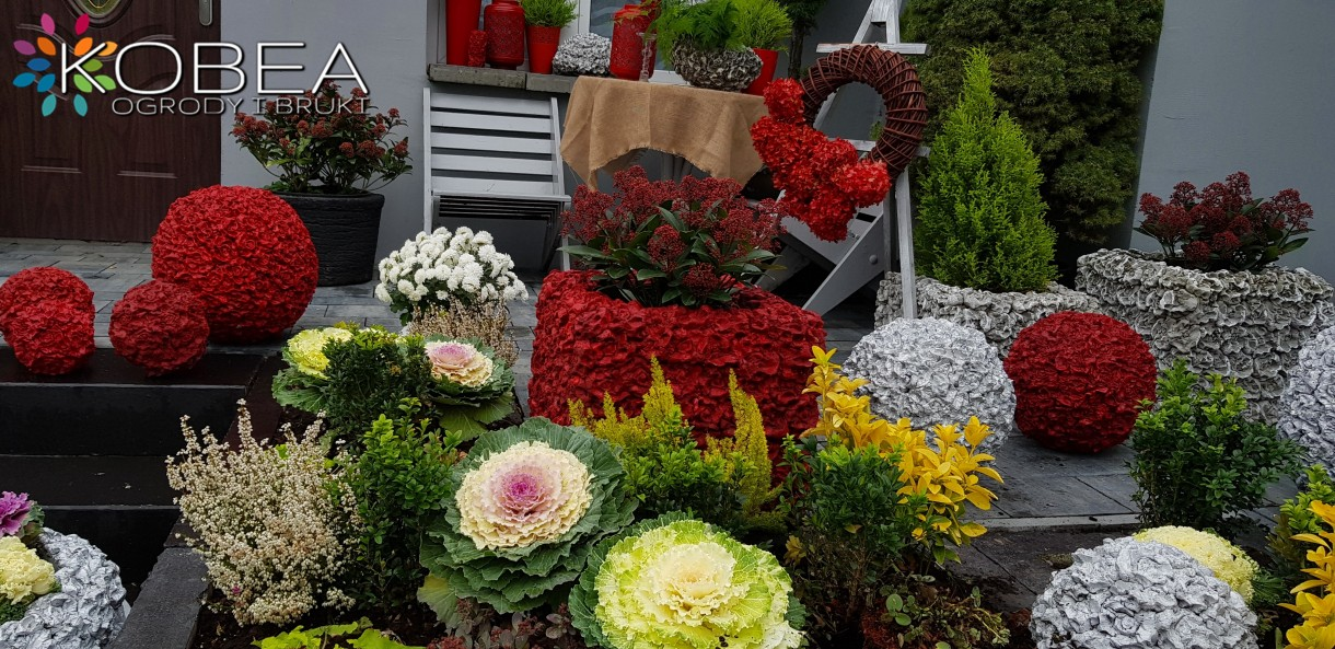 Ogród, Kobea Ogrody i Bruki-Produkcja i sprzedaż dekoracji do ogrodu