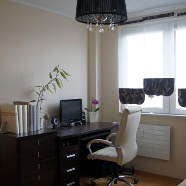 Pokój biurowo-gościnny:)