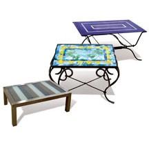 Szklane blaty do stołów, wykonane ręcznie Mdina Glass