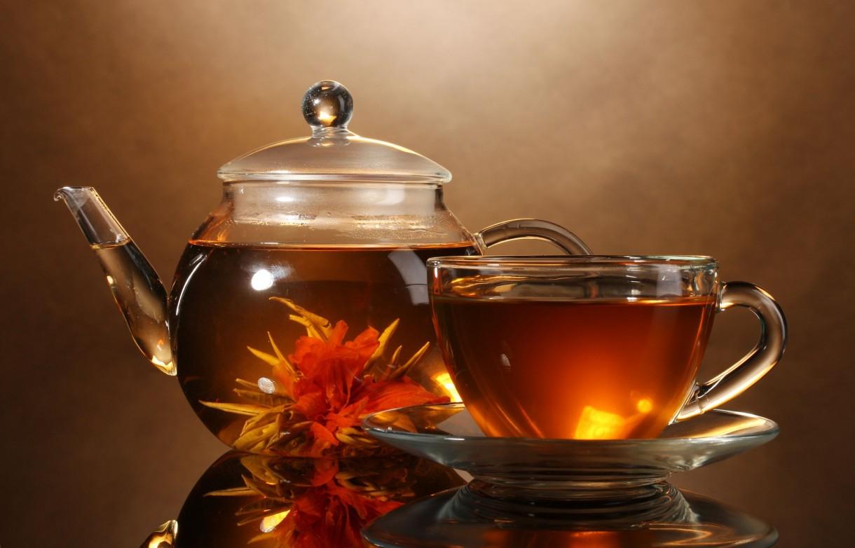 Rośliny, Kwitnące herbaty