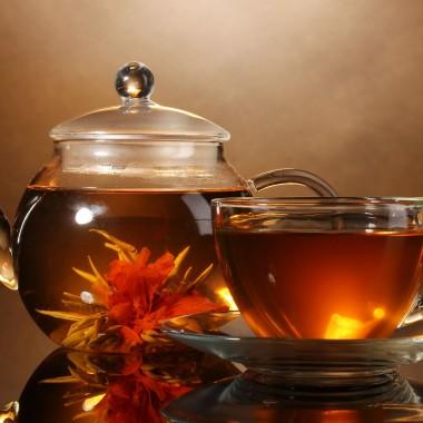 Kwitnące herbaty