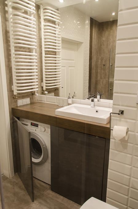 Jak Skutecznie Ukryć Pralkę W Małej łazience Deccoriapl