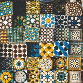 Płytki marokańskie w kuchni i łazience