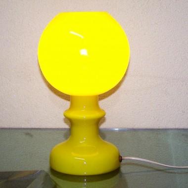lampa stołowa polski design lat 70